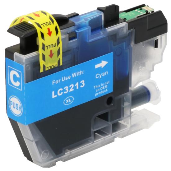 LC3213 XL compatible inktpatroon Cyaan 10 ml
