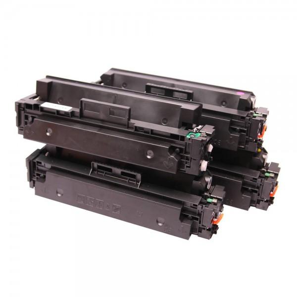 Toners Huismerk 410X Set 4 kleuren CF410X, CF411X, CF412X, CF413X
