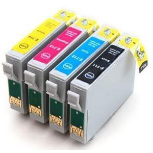 T0711-T0714 compatible inktpatronen set van 4 stuks