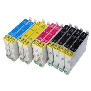 T0711-T0714 compatible inktpatronen Voordeelpack 10 stuks