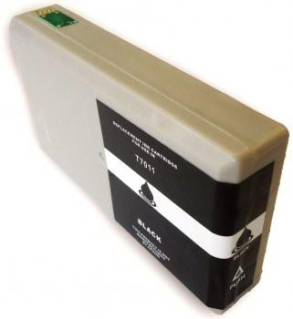 T7011 Compatible inktpatroon Zwart XL 72 ml