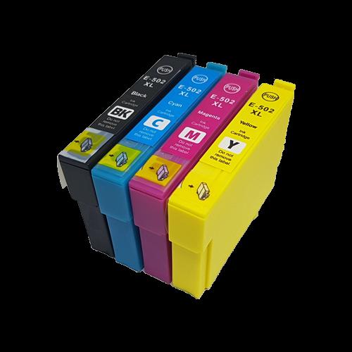 502XL Huismerk inktpatronen 502XL set van 4 stuks