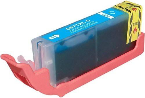 CLI-571C Huismerk inktpatroon cyaan met chip 15 ml