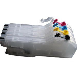 LC970/LC1000 Hervulbare Cartridge, extra hoge capaciteit 4 stuks