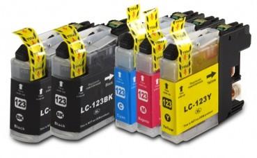 LC123 Huismerk inktpatronen Set 5 stuks