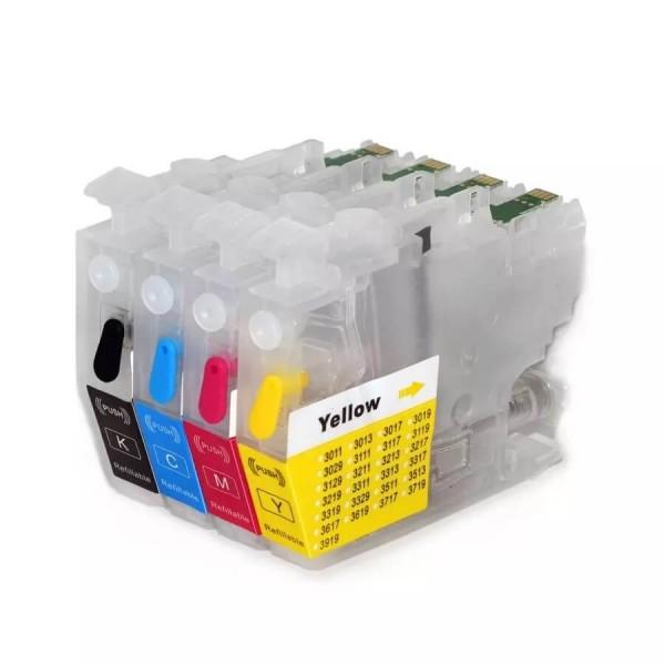 LC3213 -LC3211 Hervulbare cartridges met OT chip 4 stuks