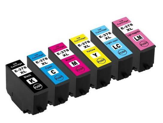 378XL Huismerk inktcartridge Set van 6 kleuren T3798