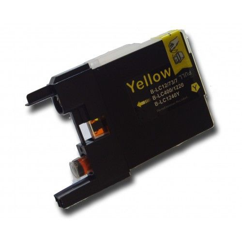 LC1220/1240 compatible inktpatroon geel 10 ml
