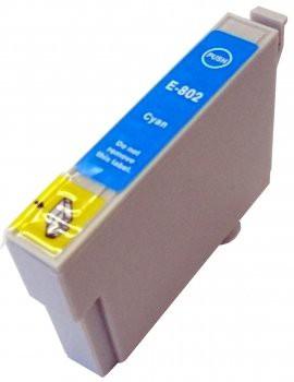T0802 compatible inktpatroon cyaan met chip 15 ml