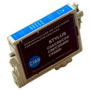 T0442 compatible inktpatroon cyaan met chip 18 ml