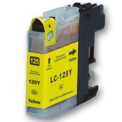 LC125 compatible inktpatroon geel 20 ml