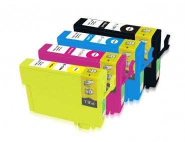 T1281-T1284 compatible inktpatronen set van 4 stuks