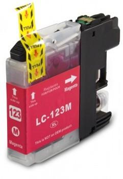 LC123 Huismerk inktpatroon magenta 10 ml