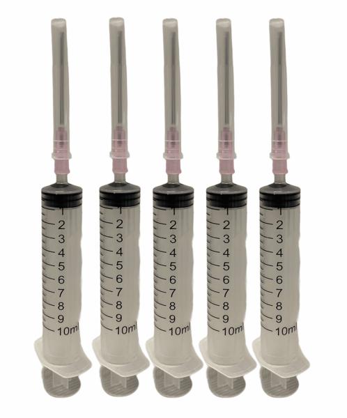 Spuiten voor het vullen van inktpatronen set van 5 stuks