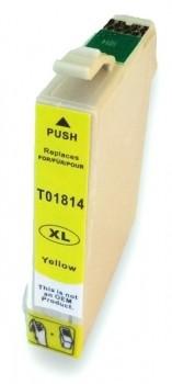 T1814 compatible inktpatroon 18XL geel 13 ml
