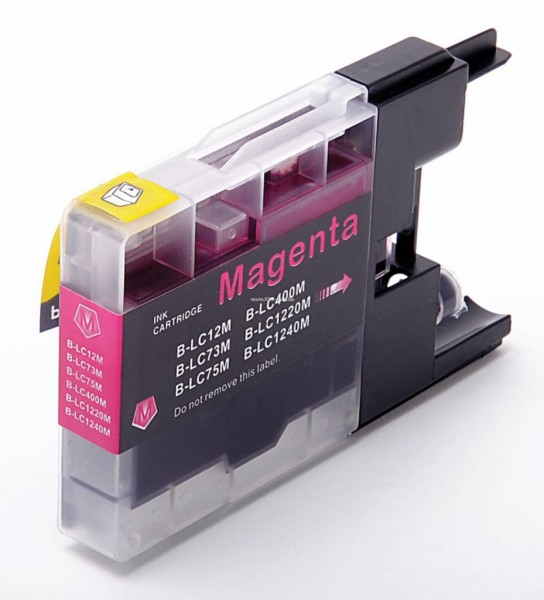 LC1220/1240 compatible inktpatroon magenta 10 ml