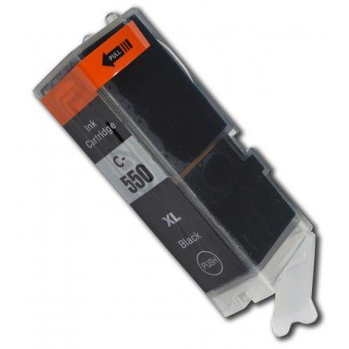 PGI-550BK compatible inktpatroon zwart 25 ml
