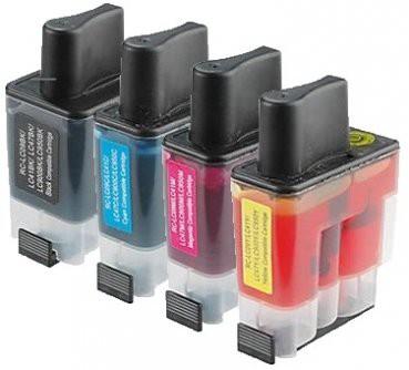 LC900 compatible inktpatronen set van 4 stuks