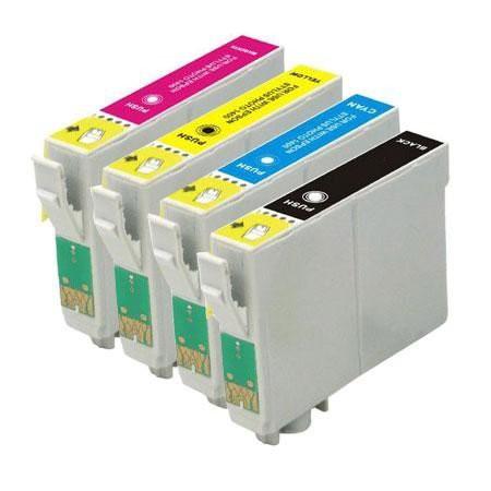 T0551-T0554 compatible inktpatronen set van 4 stuks