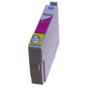 T0713 compatible inktpatroon magenta met chip 15 ml