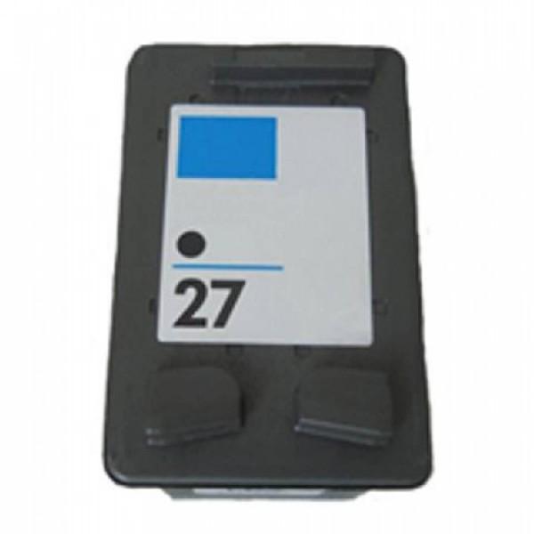 Huismerk inktpatroon nr. 27 Zwart 18 ml.