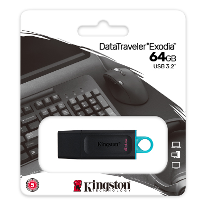 64GB Kingston DataTraveler Exodia USB 3.2