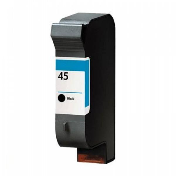 Huismerk inktpatroon nr. 45 Zwart 40 ml.