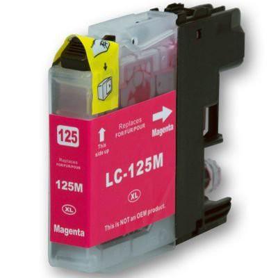 LC125 compatible inktpatroon magenta 20 ml