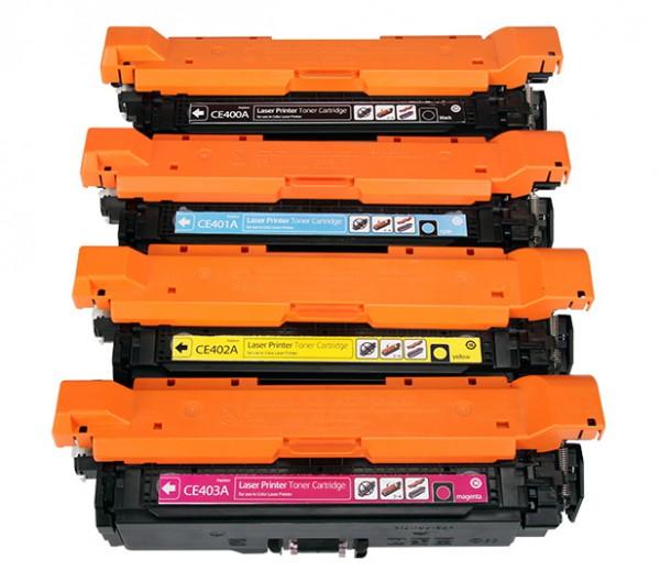 Toners Huismerk 507X-507A Set van 4 stuks