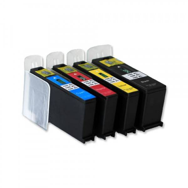 100 compatible inktpatronen set van 4 stuks