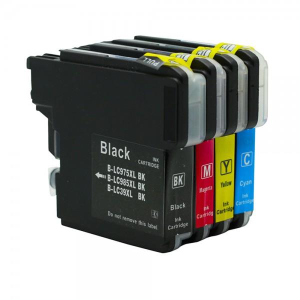 LC985 compatible inktpatronen Voordeelpack 4 stuks