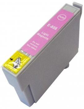 T0806 compatible inktpatroon licht magenta met chip 15 ml