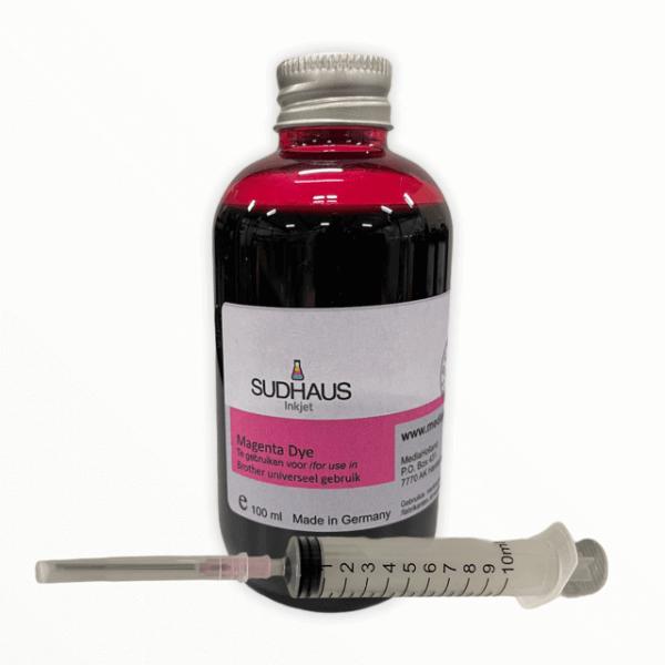 Dye Refill Inkt universeel voor Brother Magenta 100 ml