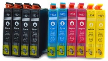 T1631-T1634 compatible inktpatronen 16XL set van 10 stuks
