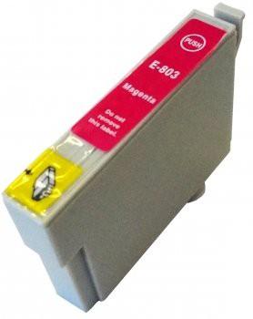T0803 compatible inktpatroon magenta met chip 15 ml