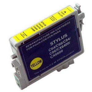 T0444 compatible inktpatroon geel met chip 18 ml