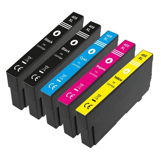 405XL Huismerk inktcartridges XXL set van 5 stuks
