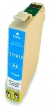T1812 compatible inktpatroon 18XL cyaan 13 ml