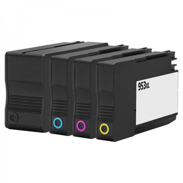 Huismerk 953XL remanufactured Cartridge Set 4 Stuks