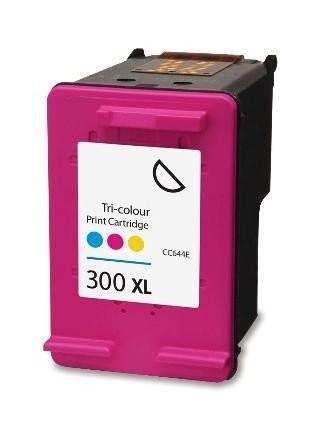 Huismerk inktpatroon nr. 300XL CC644EE Kleur 21 ml