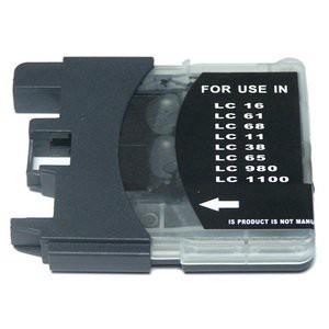 LC1100/LC980 compatible inktpatroon zwart 28 ml