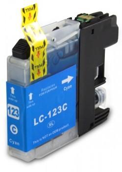 LC123 Huismerk inktpatroon cyaan 10 ml