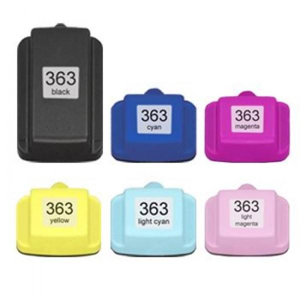 Compatibel inktpatronen nr.363 set van 6 stuks