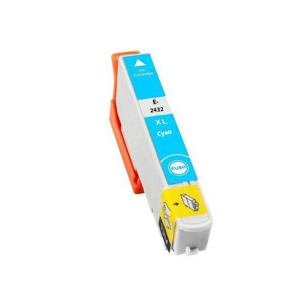 T2432 compatible inktpatroon 24XL cyaan 10 ml