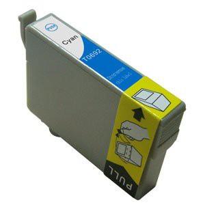 T1282 Compatible inktpatroon Cyaan 10 ml.