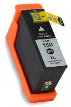 150 compatible inktpatroon Zwart 35 ml.