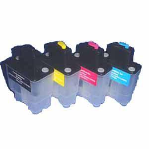 LC900-LC950 Hervulbare Cartridge, standaard capaciteit 4 stuks