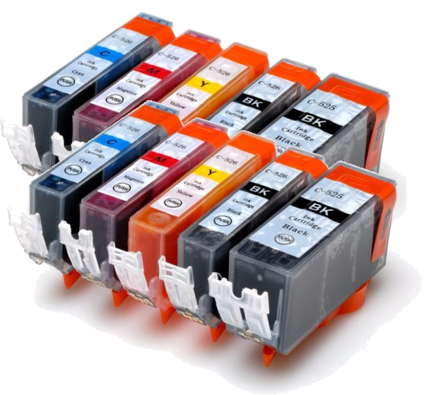 CLI-526-PGI-525 Voordeelpack 10 stuks