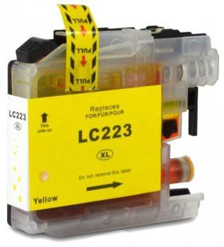 LC223 Huismerk inktpatroon geel 10 ml