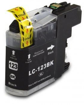 LC123 Huismerk inktpatroon zwart 20 ml